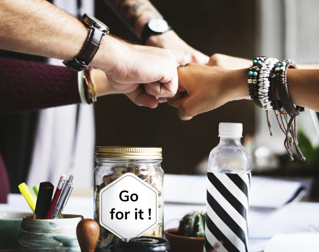 Go for it together: Photo byrawpixel.comfromPexels
