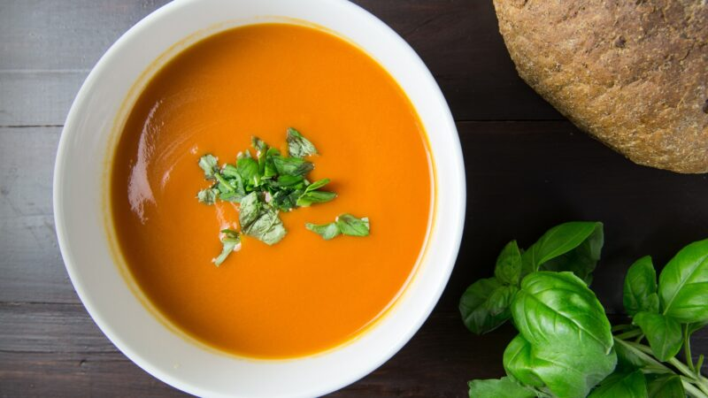 What's for Dinner? Spicy Butternut Soup: Day 1 Soup 2