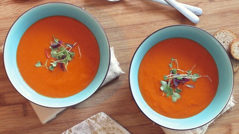 Healthy Hearty Carrot Soup: Soups Don't Get Easier Than This! – Day 2, Soup 2