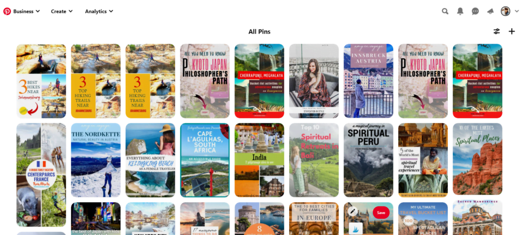 Pinterest for traffic and growth