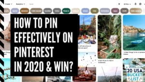How to Pin on Pinterest in 2020