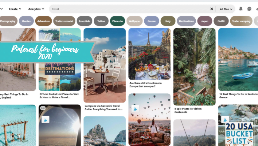Pinterest Strategies and Tricks for Beginners in 2020
